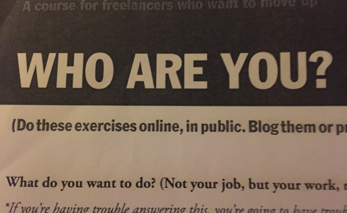 Speech of the Week: Who AreYou?